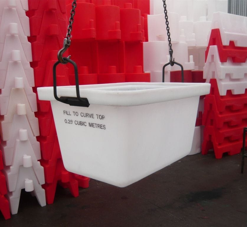 Shift muck the easy way with our high strength mortar tubs