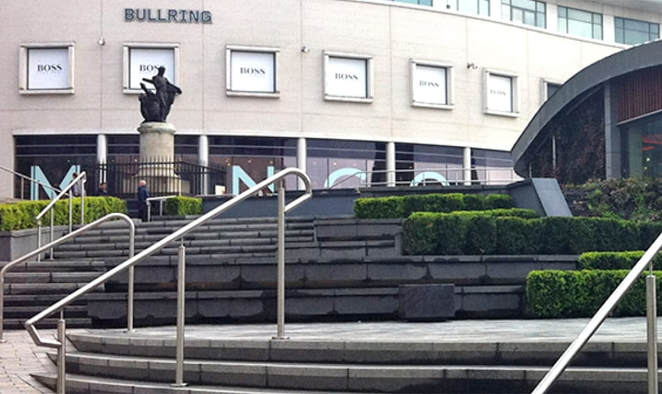 Flowpoint grout stronger than an Ox at Birmingham's Bull Ring