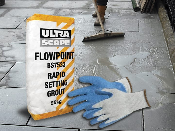 Flowpoint Paving Grout – The cost effective, long lasting paving grout used by professionals