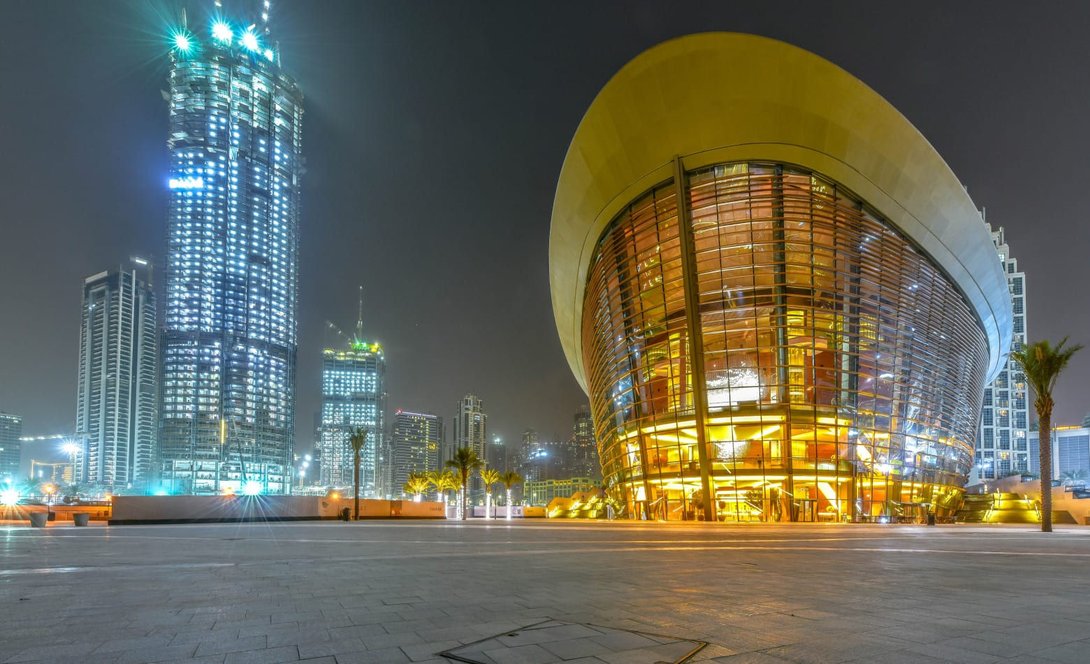 Ultrascape Flowpoint slurry grout on the world stage again at Dubai Opera