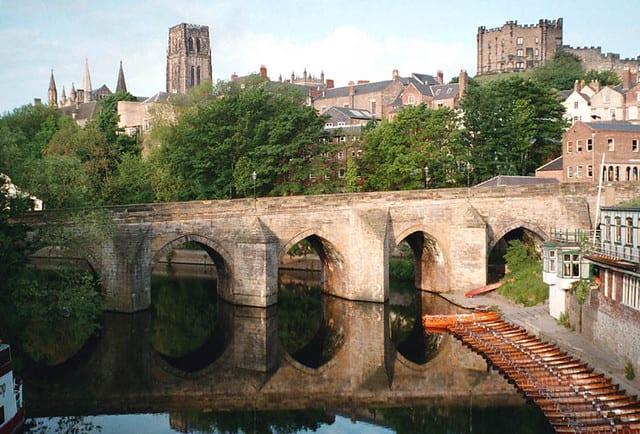 Transformation of Medieval Old Elvet Bridge in Durham