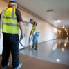 Larsen 1550 Self Levelling Screed Being Poured By Contractors