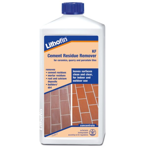 Lithofin Cement Residue Remover for Porcelain & Ceramic Tiles